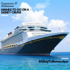 Wished to Go On a Disney Cruise