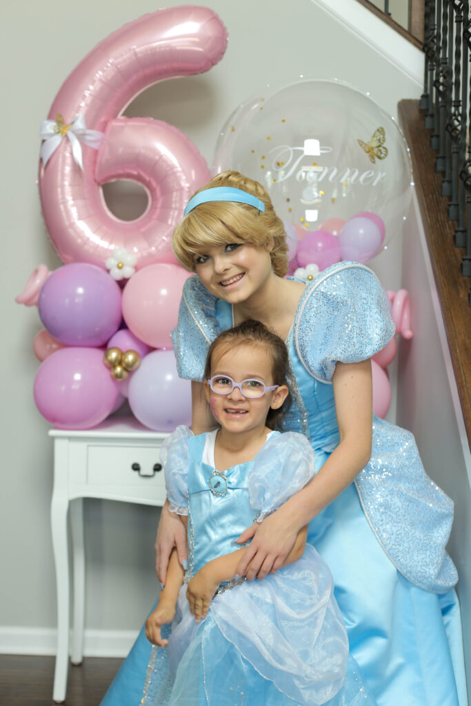 Cinderella with a child